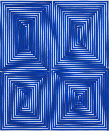 Bradley Harms, 'Blue Coffer (Geo)', 2014