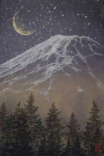 Noriyuki Kobayashi, 'Mountain under a starlit sky', 2018