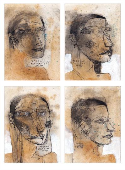 Hassan Manasrah, 'The Poetess Portraits', 2020