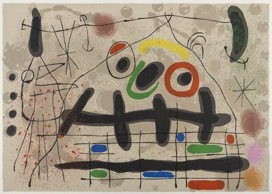 Joan Miró, 'Le Lézard Aux Plumes D'or (M.461)', 1967