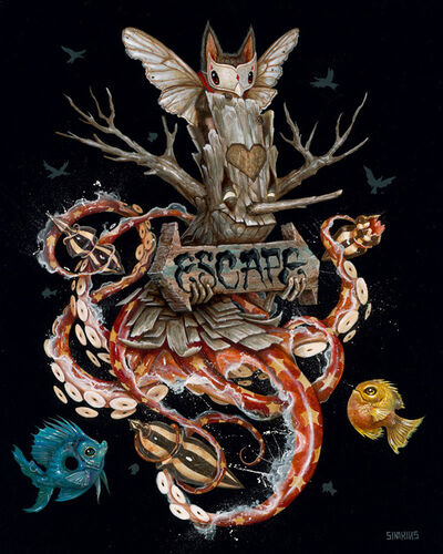 Greg 'Craola' Simkins, 'The Sweetheart Tree'
