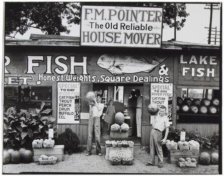 Walker Evans, 'Roadside Stand near Birmingham, Alabama', 1936