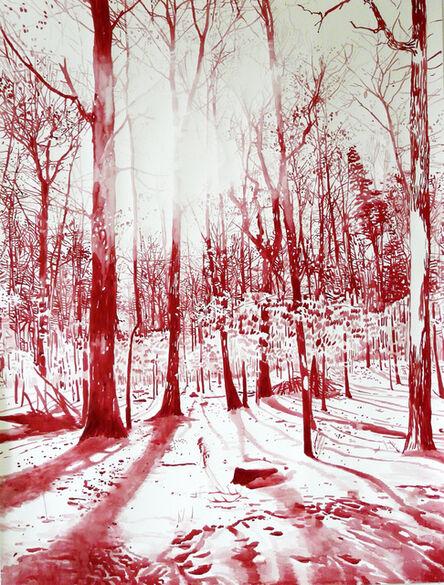 Malgosia Jankowska, 'Red forest', 2016