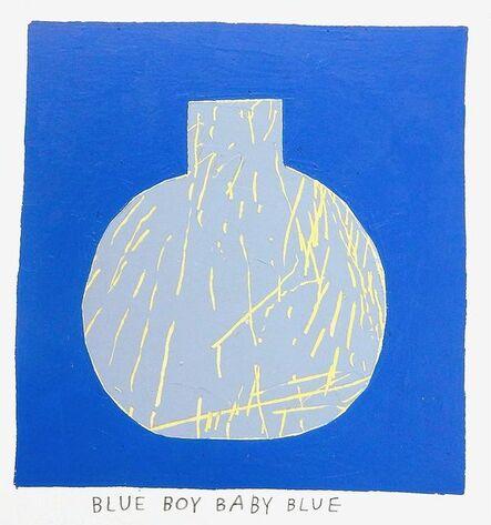 Kristin Texeira, 'blue boy baby blue', 2017