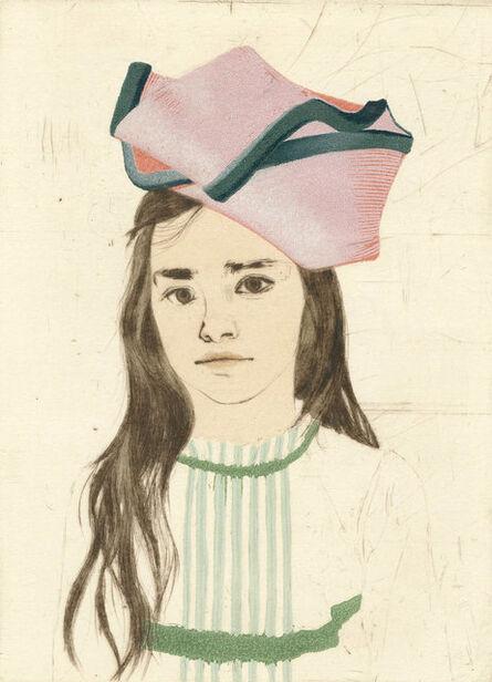 Ellen Heck, 'Daphne Wearing a Mobius Strip as a Hat', ca. 2018