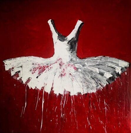 Ewa Bathelier, 'Deep Red ', 2020