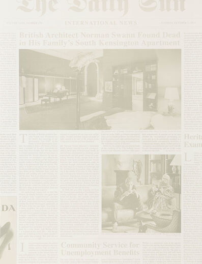 Elmgreen & Dragset, 'International News', 2014
