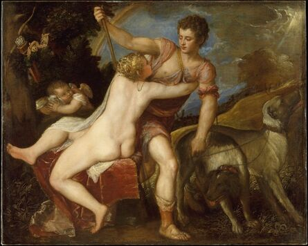 Titian, 'Venus and Adonis'
