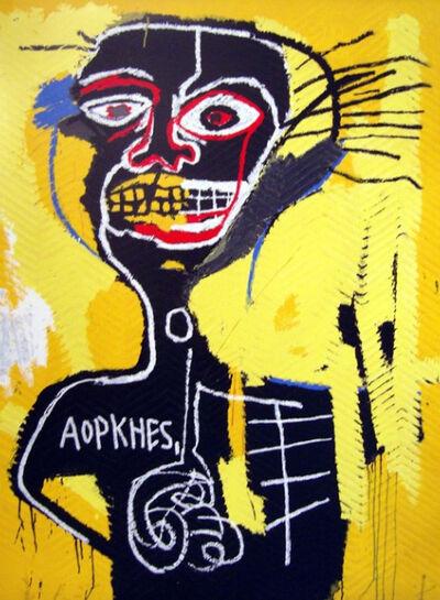 Jean-Michel Basquiat, 'Untitled (Cabeza)', 1982/2005