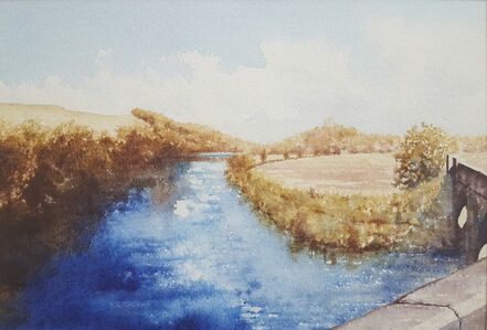 Gillie Cawthorne, 'River Tweed at Norham', 2013
