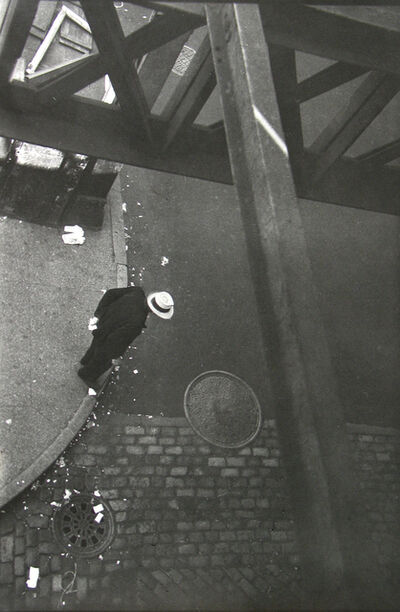 Saul Leiter, 'From the El', ca. 1955