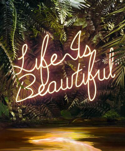 Yee Wong, 'Disco in the Jungle: Life is Beautiful', 2020