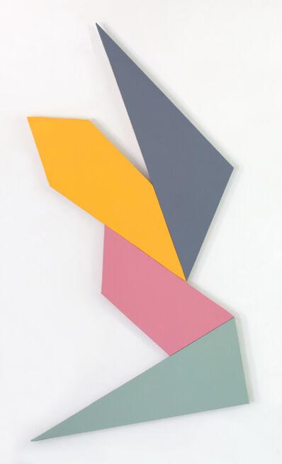Kenneth L. Greenleaf, '4-Polarity', 2014