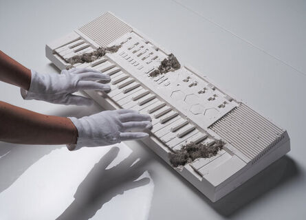 Daniel Arsham, 'Future Relic 09: Keyboard', 2018