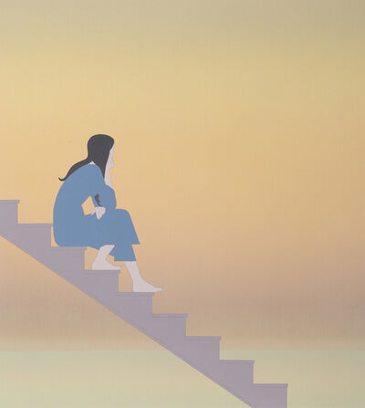 Will Barnet, 'Stairway to the Sea', 1984