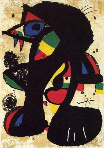 Joan Miró, 'Incisiva', 1980