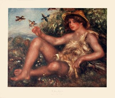 Pierre-Auguste Renoir, 'The Young Shepherd', 1975