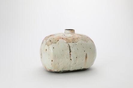 Kang Hyo Lee, 'Buncheong Oval Bottle', 2016
