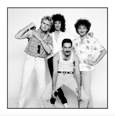 David Bailey, 'Queen Live Aid', 1985