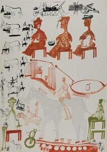 Carlo Zinelli, 'Untitled', 1966