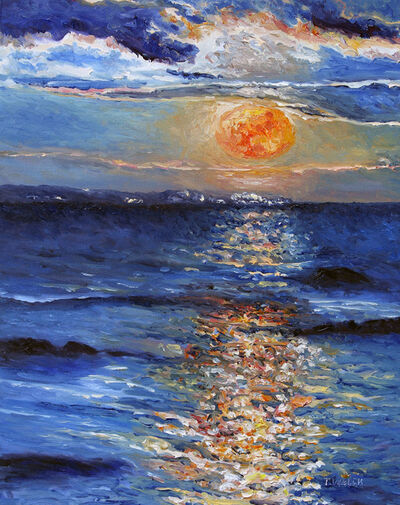 Terrill Welch, 'Christmas Day Full Moonrise 2015', 2015