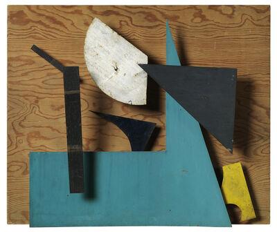 Jean Tinguely, 'Méta-mécanique - Sprit - Bleu ocre et vert ', 1955