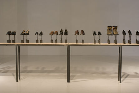Ingrid Bachmann, 'Symphony for 54 Shoes', 2006