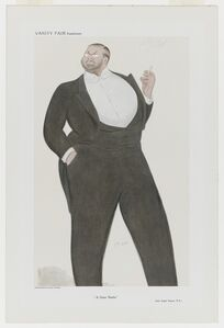 "Max Beerbohm, 'Vanity Fair Supplement, ""A Great Realist""'"
