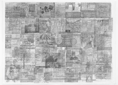 Ciprian Muresan, 'Palimpsest, Artforum April 2008', 2016