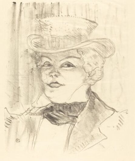 Henri de Toulouse-Lautrec, 'Mme. Réjane', 1898