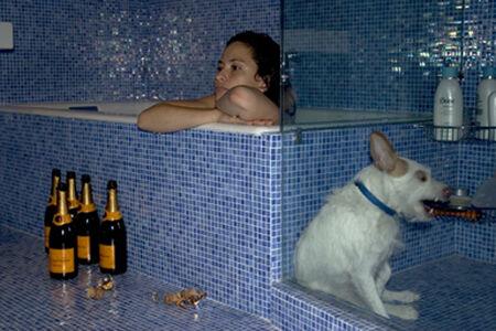 Dana Hoey, 'Champagne Bath', 2005