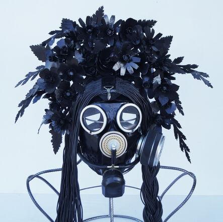 "Vasily Slonov, 'Kokosnik - Gas Mask ""Rubber Primrose""', 2016"