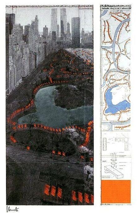 Christo, 'The Gates XXXVII', 2000-2010
