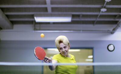 Lucy Nicholson, 'Alzheimer's Ping Pong Therapy, Los Angeles, CA', 2011