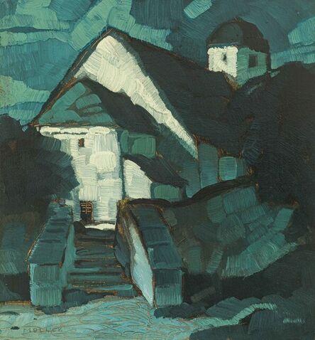 Oskar Mulley, 'Chapel in Moonlight', ca. 1920