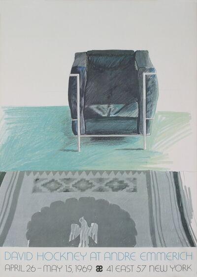 David Hockney, 'Corbusier Chair and Rug (sm)', 1969