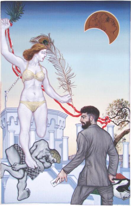 Emmanouil Bitsakis, 'La Liberte Guidant le Peuple', 2015