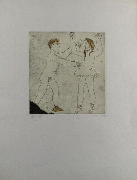 Giacomo Manzù, 'Passo di danza I', 1974