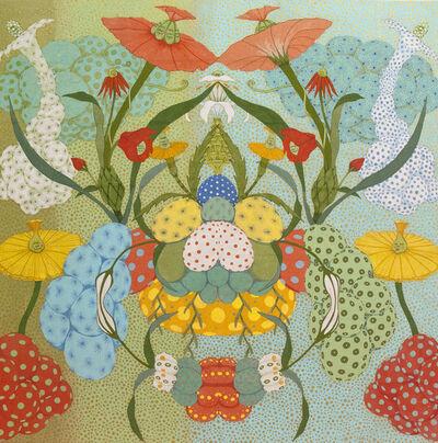 Mari Ito, 'Origen del deseo - Arcoíris verde', 2018
