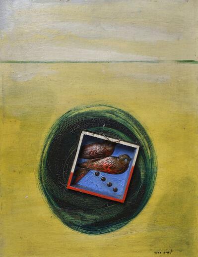Max Ernst, 'Deux Hirondelles traversant l'océan dans une valise ', ca. 1924
