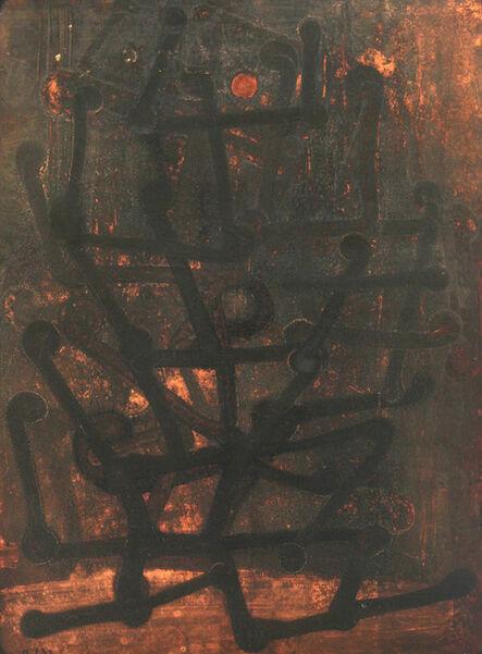 Fritz Winter, 'Die dunkle Orgel', 1933