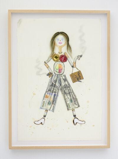 Aurel Schmidt, 'Trash Doll (Fancy Pants)', 2020