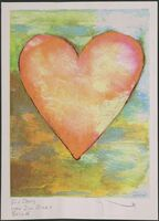 Jim Dine, 'Heart', ca. 1990