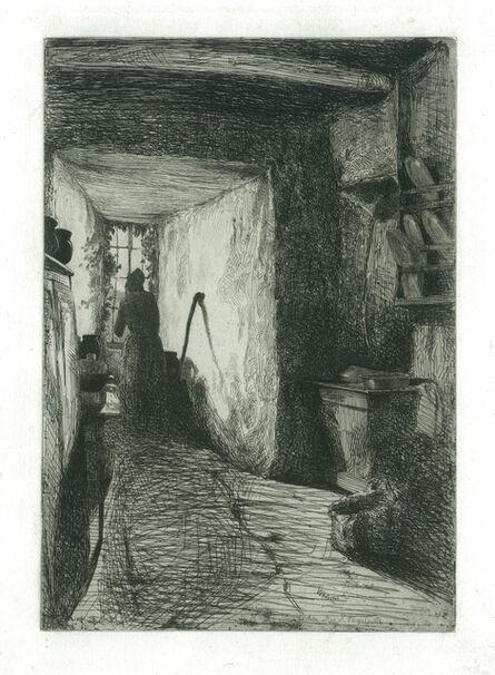James Abbott McNeill Whistler, 'The Kitchen', 1858