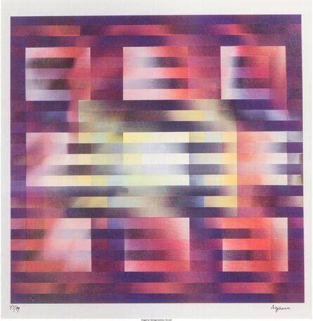 Yaacov Agam, 'Untitled - Nine Squares'