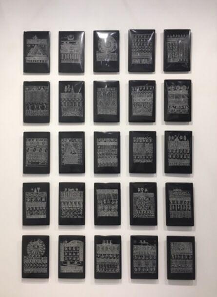 Rachid Koraïchi, 'Untitled (Talismanic Tablets)', 2015