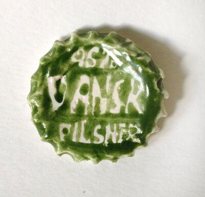 Rose Eken, 'Danish Pilsner Bottle Cap', 2015