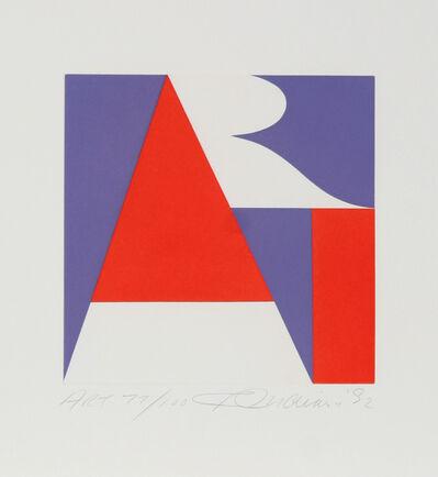 Robert Indiana, 'The American Art', 1992
