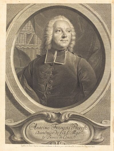 Georg Friedrich Schmidt, 'Antoine François Prevost', 1745