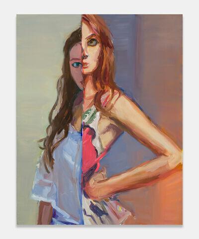 Janet Werner, 'Orange Split', 2020